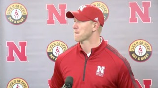 Frost speaks following his first spring game