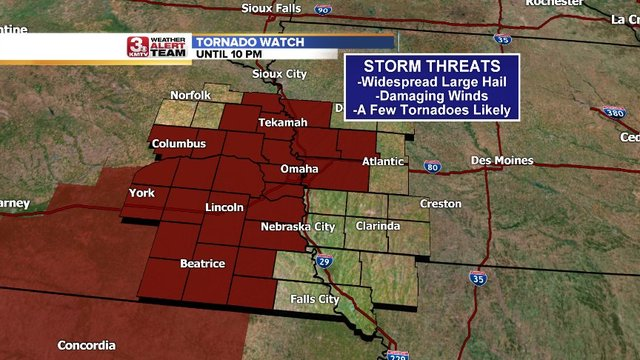 Round two of severe storms expected for much of Eastern Iowa