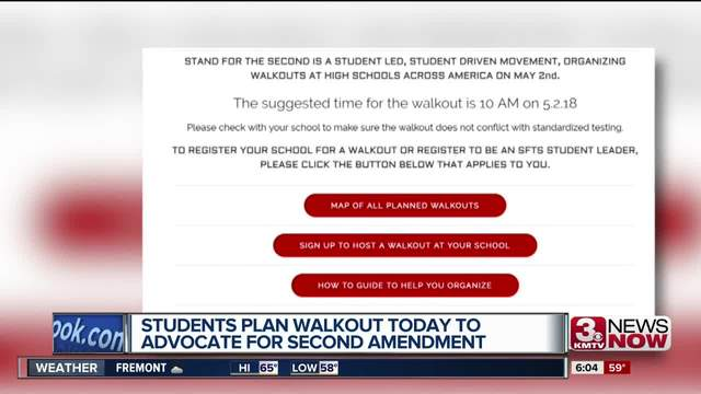 Pro-Second Amendment students stage nationwide school walkout