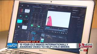 Teen awarded for video to help child brides