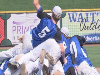 Prep wins third straight state baseball title