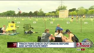 State track fans check out Omaha sites