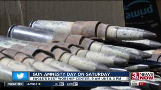 Omaha Police holding gun amnesty day Saturday