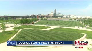 Council Bluffs newly developed riverfront