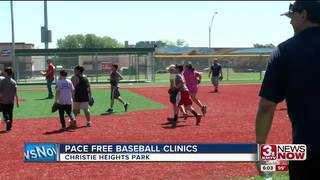 PACE offers free baseball clinics for children