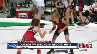 Thousands at outdoor wrestling tournament