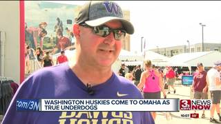 Washington comes to Omaha as big underdog