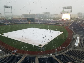 CWS: Sunday delay angered fans, more rain coming