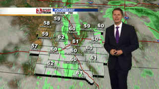 Drying Out Friday Afternoon