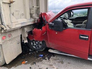 CWS traffic nightmare: Crash shuts down I-480 EB