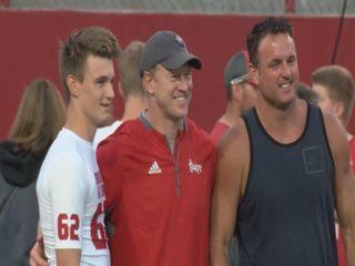 Huskers host second Friday Night Lights camp
