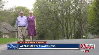 Addressing an Alzheimer's disease diagnosis