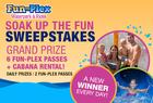 Fun Plex Soak Up the Fun Sweepstakes