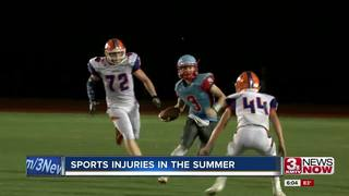 Medics staying ahead of summer sports injuries