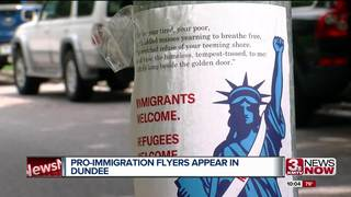 Pro-immigration flyers appear in Dundee area