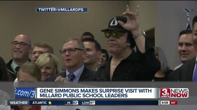 VIDEO: Gene makes surprise back-to-school visit to Millard Public Schools