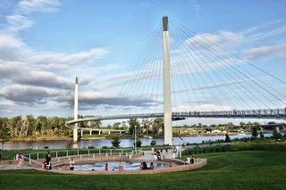 Bob Kerrey pedestrian bridge reopens