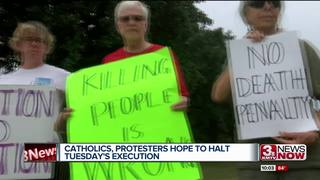 Catholics, protesters hope to halt Tuesday's...