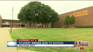 Bellevue West student brings gun to school