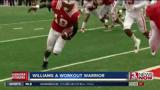Receiver Williams a workout warrior for Huskers