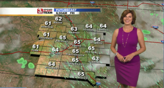 Warm but Less Humid Friday