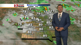 Scattered storms possible Thursday afternoon