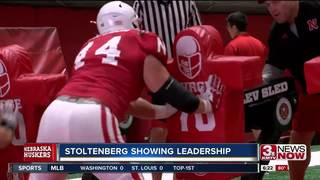 Stoltenberg showing leadership in last season