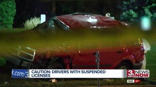 Problems patrolling suspended, revoked licenses
