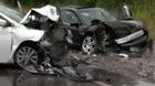 Serious crash at 11th and Locust