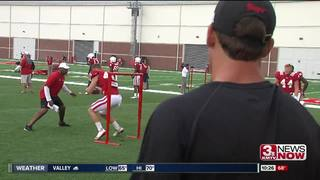 Nebraska's Tight End competition