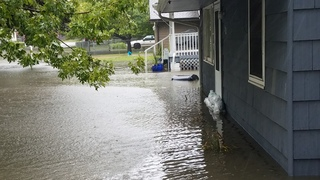 Flash flooding in Council Bluffs