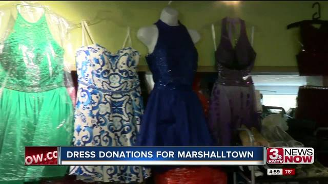 Local Shop Donate Dresses For Marshalltown Homecoming Kmtv
