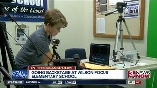 In the classroom: Backstage at Wilson Focus