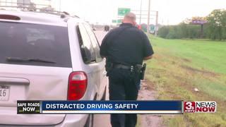 Distracted drivers endanger Omaha Police patrols