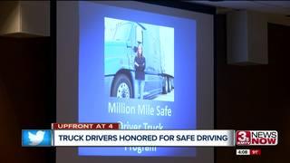 Werner Enterprises honors its safe drivers