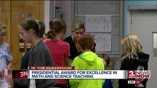 Swanson Elementary teacher wins teaching award