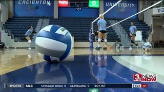 Creighton volleyball starts BIG EAST play