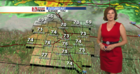 Cold Front and Storms Thursday