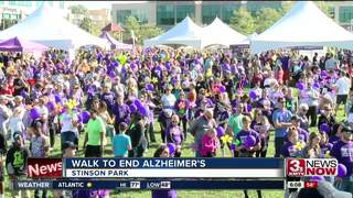Walk to End Alzheimer's sees record numbers