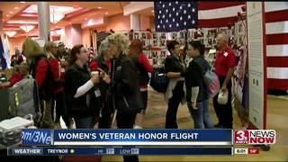 Female veterans go on honor flight