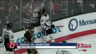 Mavs defeat Manitoba in exhibition 6-1