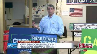Iowa Democrats rally in response to Trump in CB