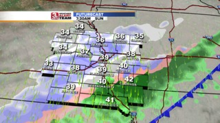 Strong Cold Front Arrives Saturday Evening