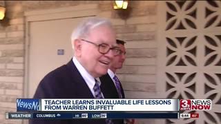 Teacher shares lessons learned from Buffett