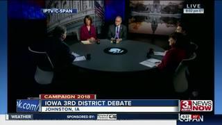 First debate in Iowa's third district held Thurs