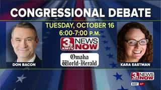 KMTV hosts Bacon, Eastman debate Tuesday