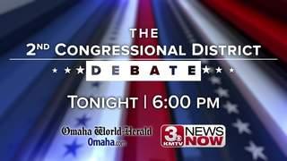 WATCH: Don Bacon, Kara Eastman debate