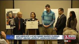 Lucas mentioned at priest abuse lawsuit presser