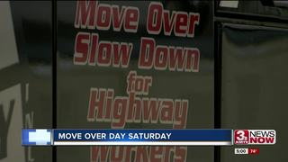 Saturday is National Move Over Day