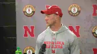 Scott Frost on his first win as Huskers' coach